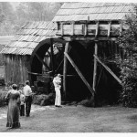 The National Park Service restoration of the Mill was completed in 1942. This photo was taken in June of 1950.